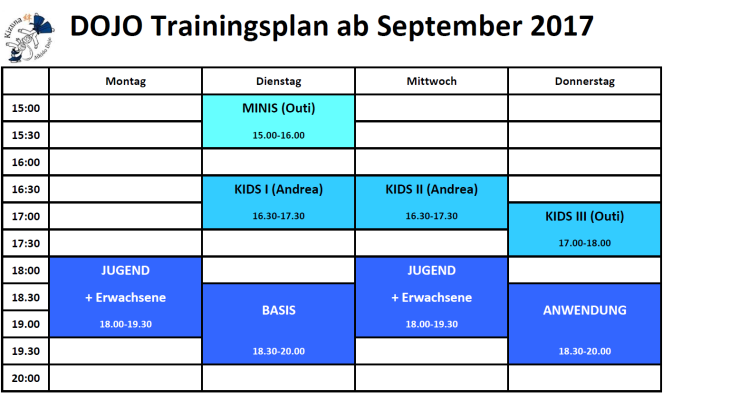 Dojo Trainingszeiten Herbst 2017.png
