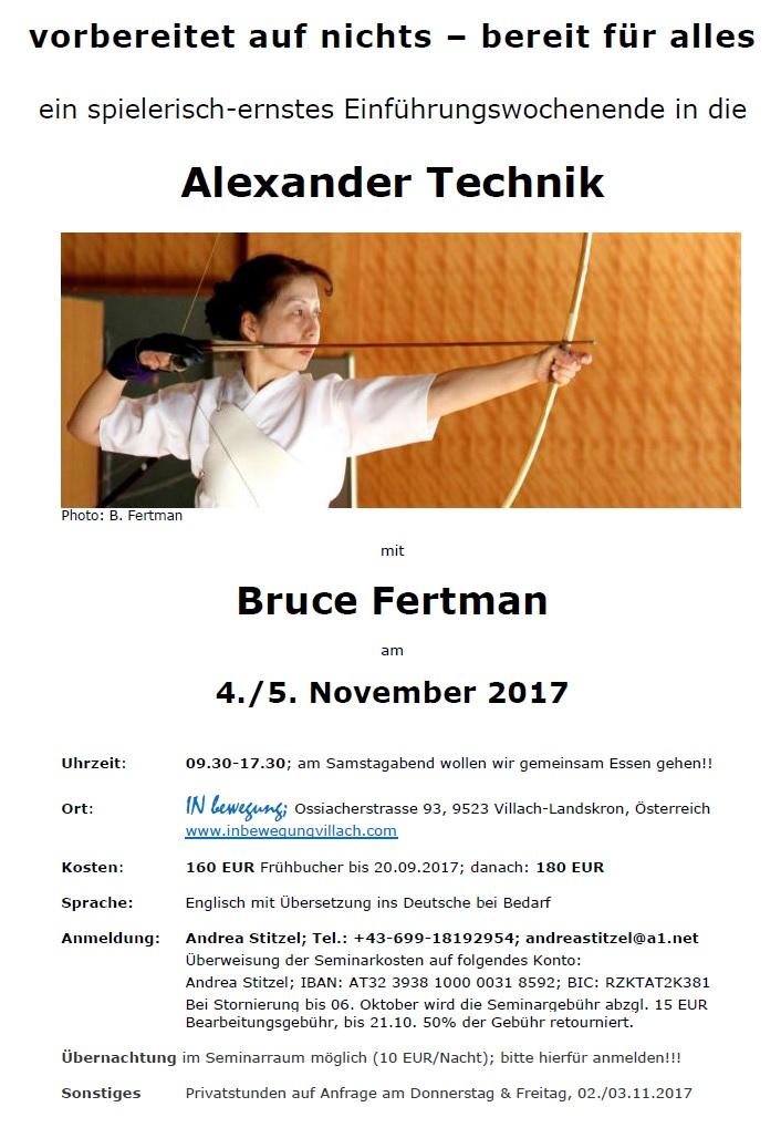 Bruce Workshop p1