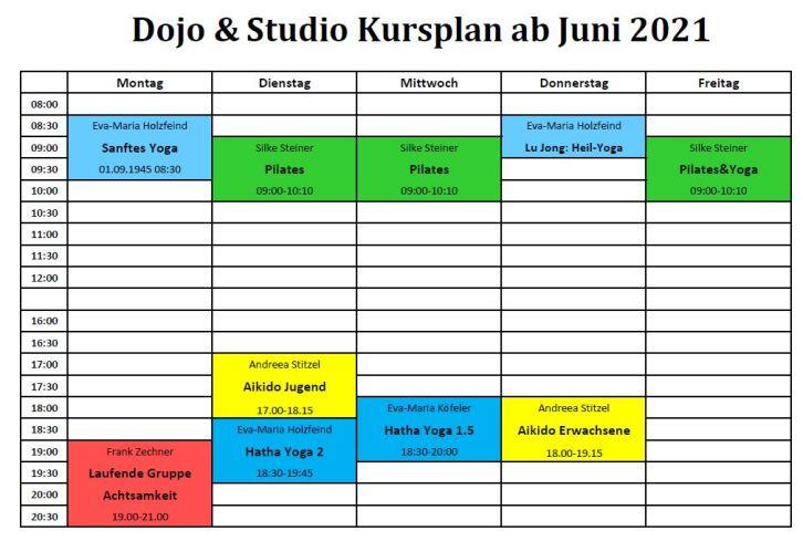 Training Juni 2021